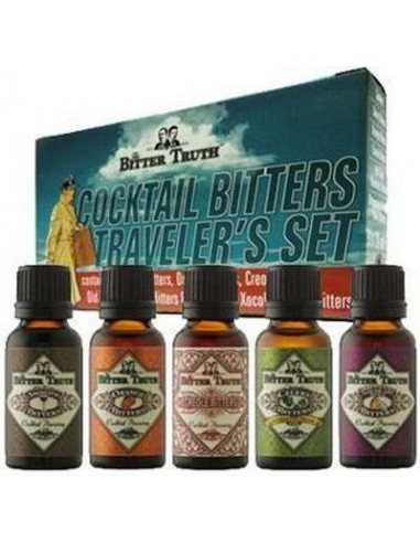 The Bitter Truth Cocktail Bitters Traveler's Set 20 cl.