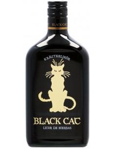 Licor de Hierbas Black Cat 70 cl.