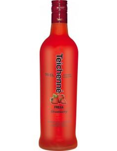 Licor de Fresa Sin Alcohol Teichenné 1L