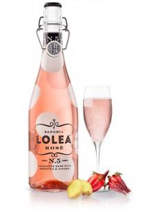 Lolea Rosé Nº5 Sangría Artesanal de Vino Espumoso Rosado 75 cl.