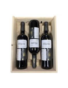 Pack Caja de Madera con 3 botellas de Rioja Bordón Reserva 2014 75 cl.