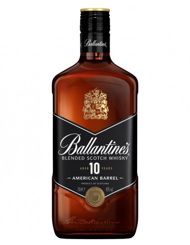 Ballantine's 10 American Barrel 70 cl. Scotch Whisky